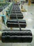 Spools of carbon fiber tows