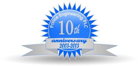 Prince Engineering celebrates 10 years!