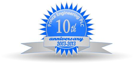Prince Engineering celebrates 10 years!