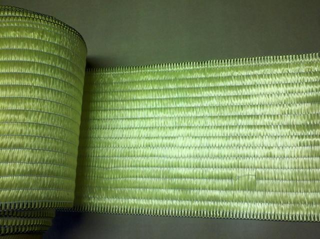 Aramid fiber textile