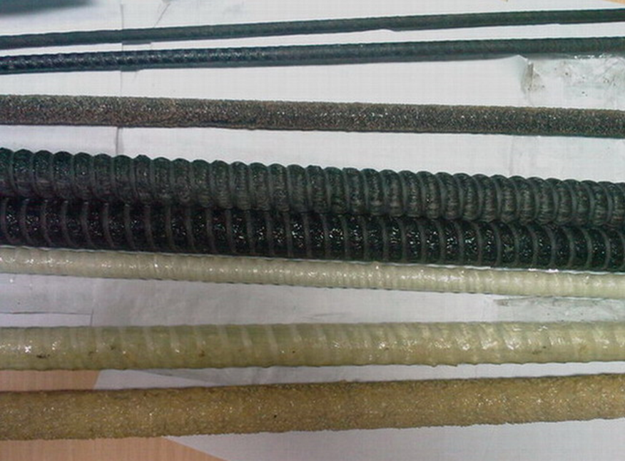 Different types of FRP rebar